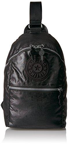 Kipling Bente Lacquer Black Sport Sling Backpack, lacqrblack