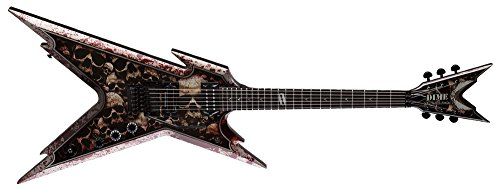 Dean RZR SKLZ Solid-Body Electric Guitar, Skullz Graphic