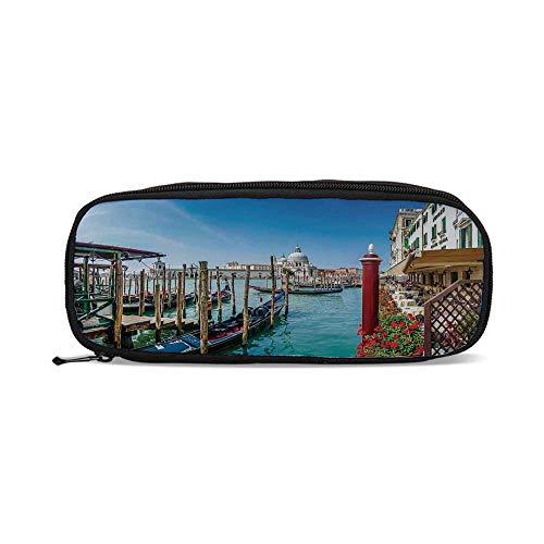 (Wanderlust Decor,Gondola on Canal Grande Basilica di Santa Maria Della Salute Sunny Day in Venice,9.4