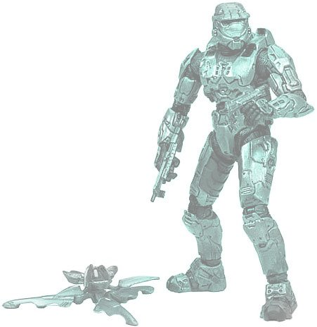 HALO 2009 Wave 2 - Series 5 Equipment Edition Master Chief (Halo 2009 Wave)
