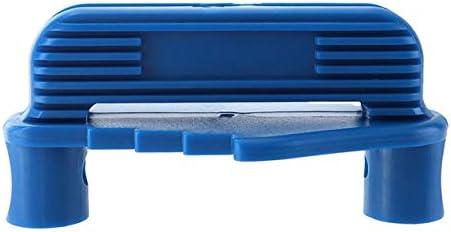 接続位置合わせラインスクライバーセンターファインダーロケータースクライビングゲージ大工木工ツールマーキング測定-青