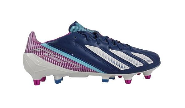 Adidas F50 Adizero SG - Botas de fútbol de cuero para hombre