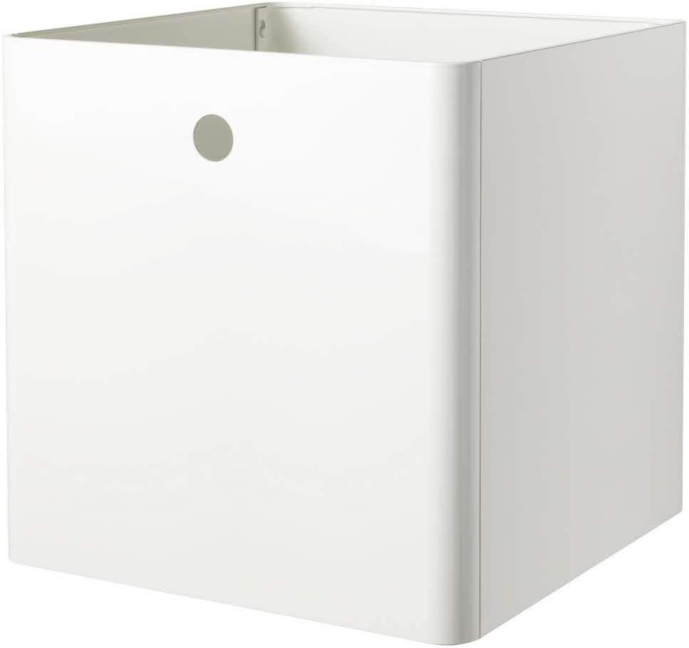 IKEA ASIA KUGGIS Caja de almacenaje Color Blanco: Amazon.es: Hogar