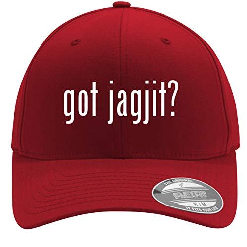 got Jagjit? - Adult Men's Flexfit Baseball Hat Cap, Red, Small/Medium