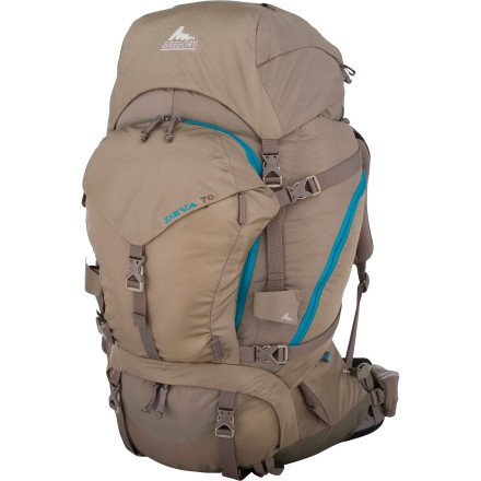 Gregory Deva 70 Technical Pack, Seneca Rock, Small, Outdoor Stuffs