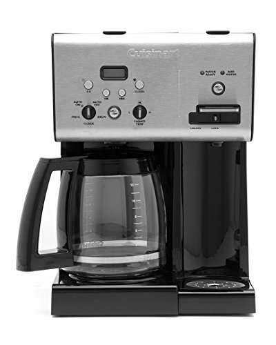 Cuisinart 12-Cup Programmable Coffeemaker Plus Hot Water System - CoffeeReviewers