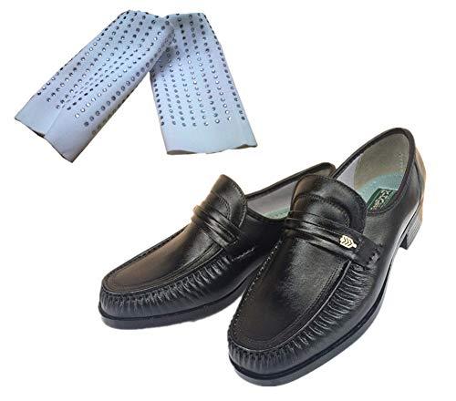 Adult Child Michael Jackson Shoes Billie Jean Halloween Dance Cosplay Space Sliding Step Shoes Add Sock (6.5, Black)