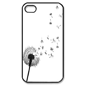 T-TGL(RQ) Customized I want adventure in the great wide somewhere Pattern Protective Cover Case for Iphone 4/4S