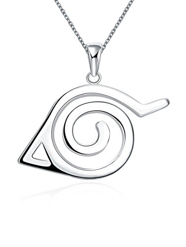 Naruto Merchandise - Anime Naruto Pendant Necklace for Women Men Stainless Steel Jewelry Gifts