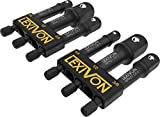 LEXIVON [2-Pack] Impact Grade Socket Adapter