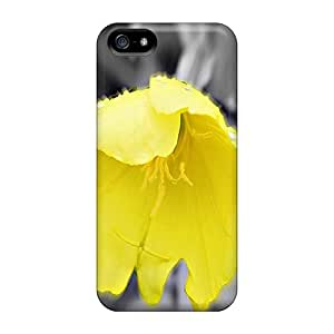 Cute Tpu Claires Yellow Flower Case Cover For Iphone 5/5s