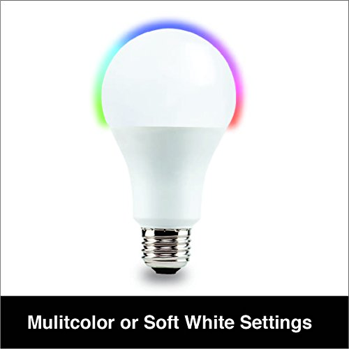 Vivitar 450 Lumens (40W) Wireless Smart Multi Colored LED Bulb (LB-60) For Sale