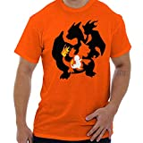 Brisco Brands Poke Go Evolution Gamer Nerd Cool Workout T Shirt Tee