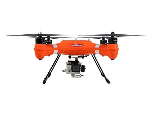 GARLUS Splash Drone (Mariner 2) Waterproof Drone Amphibious UAV quardcopter Autonomous (Orange Color) Version for GoPro camera