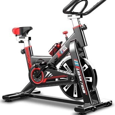 LIDAK Magnetic Exercise Bikes Stationary Belt Drive Indoor Cycling Bike with High Weight Capacity Adjustable Magnetic Resistance w/LCD Monitor Reviews
