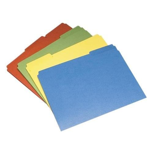 7530-01-484-0006 SKILCRAFT Colored File Folder - Letter - 8.5