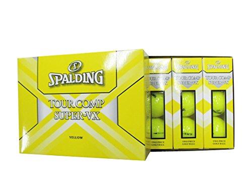 [해외] SPALDING(스팔딩)Tourcomo Super-VX 신TWO PIECE골프 볼(12개입) SUPER-VX/51911