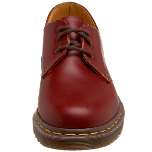 Martens Unisex Made Rosso Casual England rot Scarpe Dr red In OdqYvOF