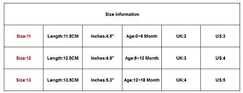 Saingace® Krabbelschuhe,0 ~ 18 Monate Baby Kinder Stern-Drucken-Schuhe Schnürsenkel Kleinkind weiche Sohle Schuhe