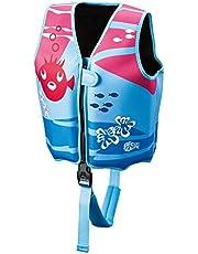 Beco 09639-004 Sealife Simningsväst, flerfärgad (blå/rosa), M