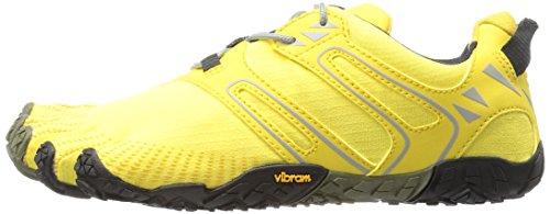 Vibram Women's V Trail Runner, Yellow/Black, 37 EU/6.5 M US by Vibram (Image #5)