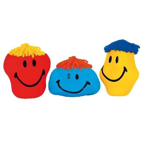 Goki 4013594210805knet Ball/Rabbia Ball Funny Faces