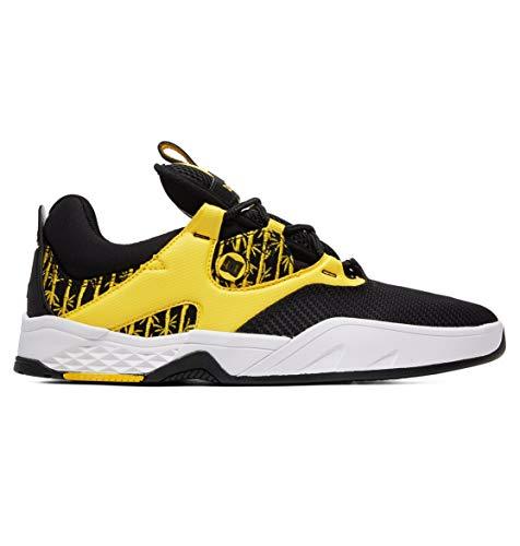 (DC Kalis S TX SE Skate Shoes Mens Sz 11.5 Black/Yellow)