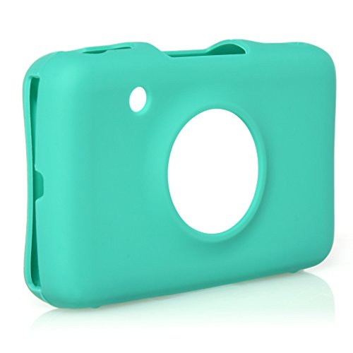 Polaroid DUAL Protective Silicone Skin for Polaroid Snap & Snap Touch Instant Print Digital Camera (Green)