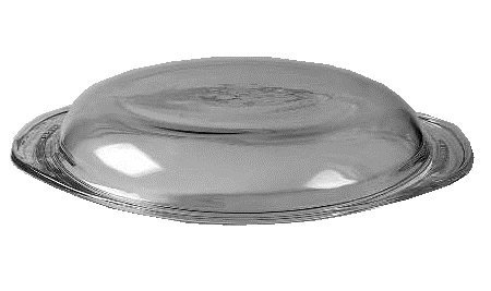 Corning Ware / Pyrex Clear Round Glass Lid ( 8 1/2