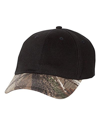 Kati - Solid Crown Camouflage Cap - (Camouflage Crown Cap)