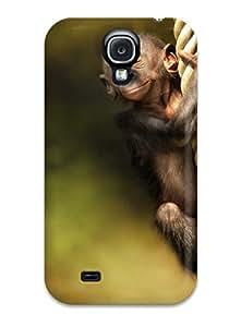 SNlIYPV3836OwxQI Faddish Monkey Case Cover For Galaxy S4