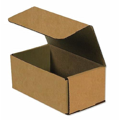 "Wholesale Aviditi M743K Corrugated Mailers, 7"" x 4"" x 3"", Kraft (Pack of 50) free shipping"