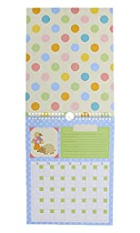 Pepper Pot Keepsake Calendar with Coordinating Stickers (Forest Family)