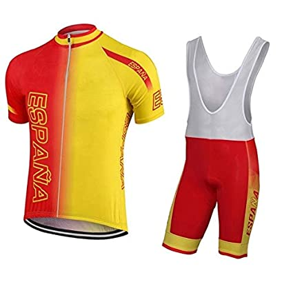 mayor selección de 2019 calidad autentica talla 40 Amazon.com : Best Go Pro Men Classica Spain Cycling Jersey ...