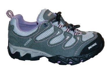 Meindl Tarango Junior 680164 - Zapatillas de deporte de cuero para niños Gris