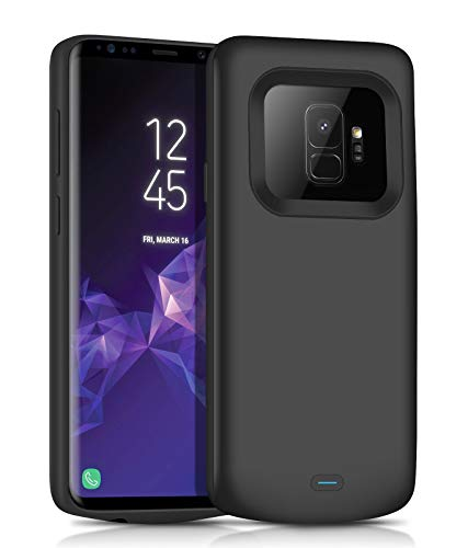 JUBOTY Galaxy S9 Battery Charging Case, Slim 4700mAh Portable Protective Extended Battery Case with Full Edge Protection Compatible with Samsung Galaxy S9(24 Month Warranty)