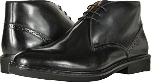 Florsheim  Men's Truman Chukka Boot Black Smooth 13 D (Black Smooth Chukka)