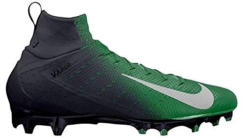 Nike Vapor Untouchable Pro 3 Mens Football Cleats (12, Black/Green)