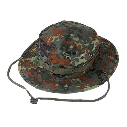 K&shop Tactical Airsoft Sniper Camouflage Hats Men and Women Outdoor Mountaineering Cap Military Hunting Caps,German Camo