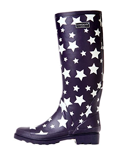 Rain Rubber High Star Boots Women Women's Insun for EYAwqnpx8