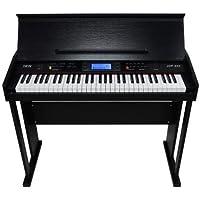 Jwin JDP-950 61 Tuş Hassasiyetli Elektronik Ahşap Kabinli Siyah Piyano