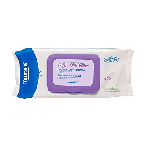 Mustela 1111EA Baby Wipes Unscented