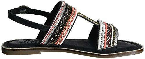 Bullboxer Sandal, Women's Open Toe Sandals Black (Black)