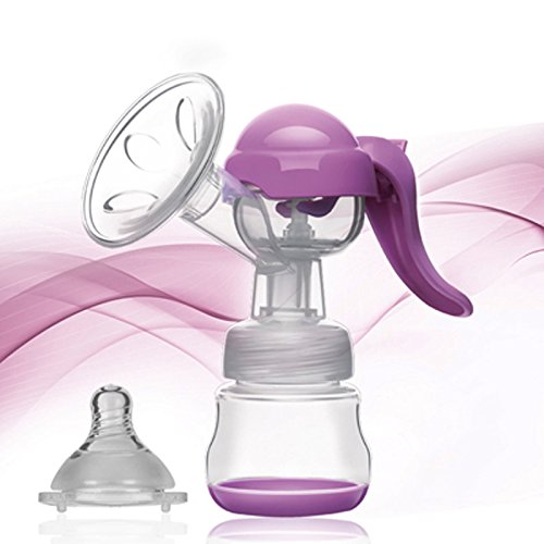 Manual Breast Pump with Lid...