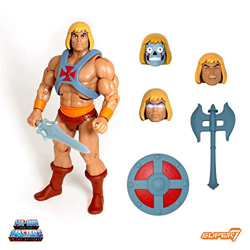 - Super7 Masters of The Universe Ultimates Club Grayskull He-Man Action Figure