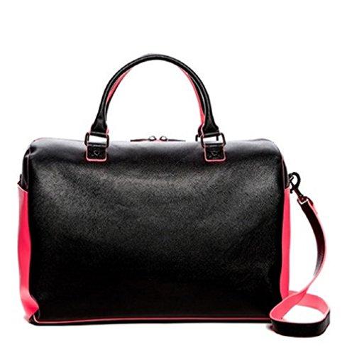 deux-lux-azure-saddle-black-pink-bag-handbag