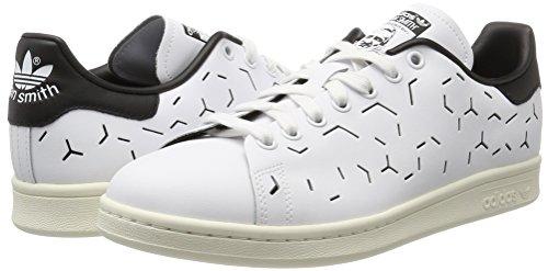 Basso A White Bianco White Sneaker footwear Smith Collo Black Donna Adidas footwear core Stan wX1UxtwB