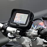 Kit Support Guidon Moto Velo Professionnel UltimateAddons Compatible GPS Tomtom Rider Toute Edition