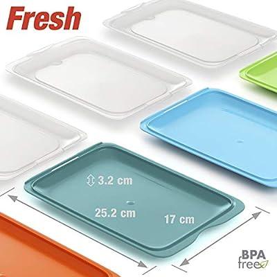PracticFood - Lote de 3 Porta Embutidos y Alimentos Sistema Fresh ...