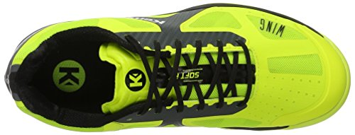 Yellow 6 Caution 03 Handball Fluo Shoes Anthracite Kempa Boys' Lite Noir Jaune Wing UK t7qwxYAp